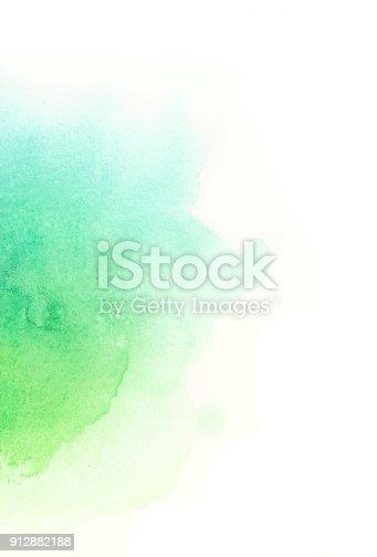istock Watercolor background 912882188