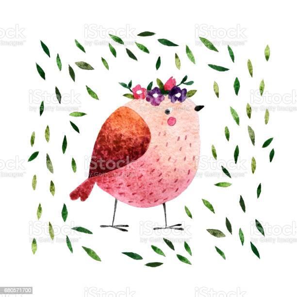 Watercolor bird picture id680571700?b=1&k=6&m=680571700&s=612x612&h=burltzxdosoi3vpvop5skca1cxuydhmnkt66ps3gd6e=