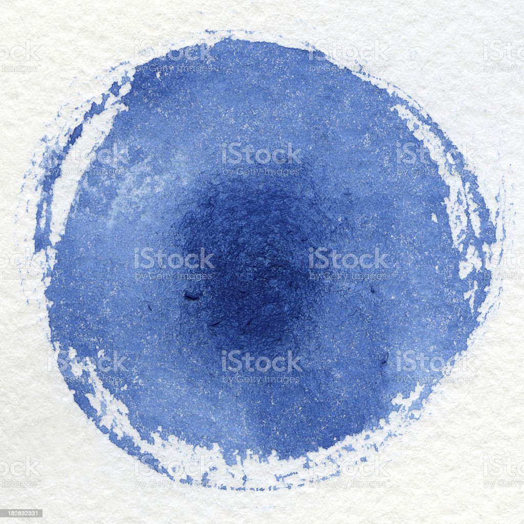 Watercolor blue background stock photo