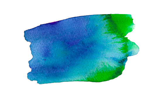 1131857558 istock photo Watercolor blue splash in watercolor style on soft white background. Ink, paint, abstract. White abstract texture. 1155584329