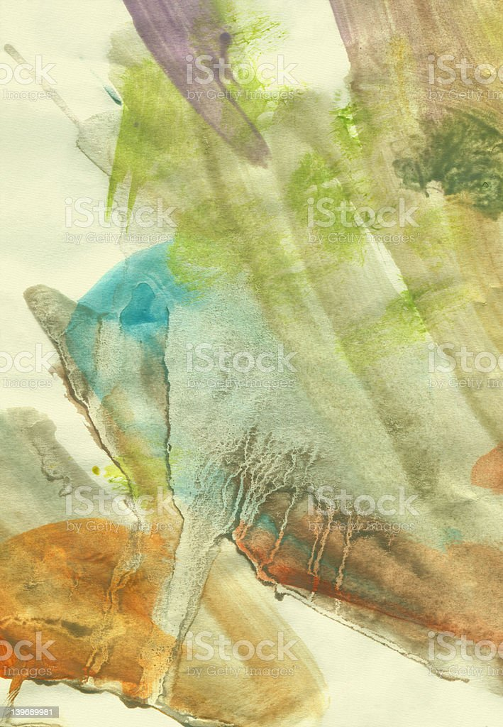 watercolor grunge royalty-free stock photo