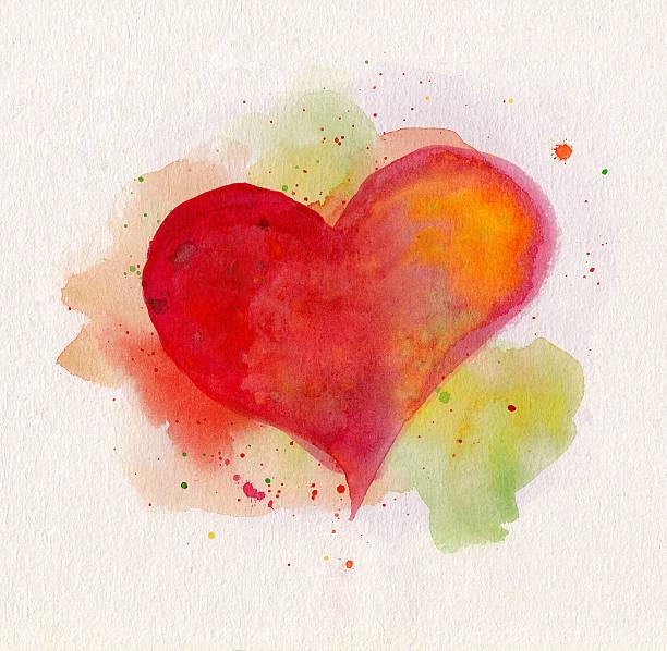 Aquarell heart – Foto