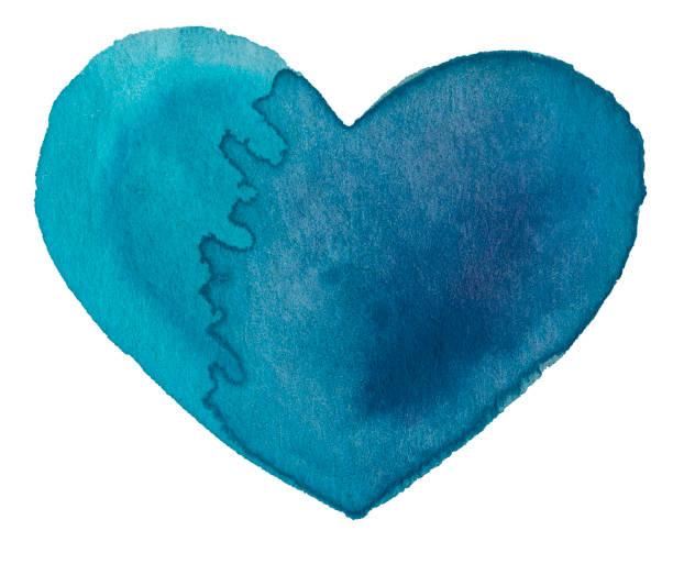 Aquarell Herzsymbol – Foto