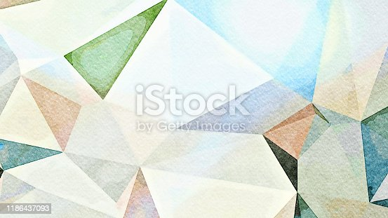 916322742 istock photo Watercolor Illustration of Manuka 1186437093
