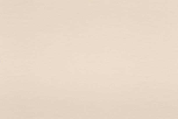 watercolor light beige paper in light cream sepia tone. - beige background stock photos and pictures