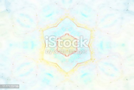 1011152398 istock photo Watercolor Mandala Illustration 1177120759