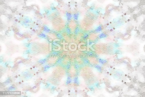 1011152398 istock photo Watercolor Mandala Illustration 1177120896