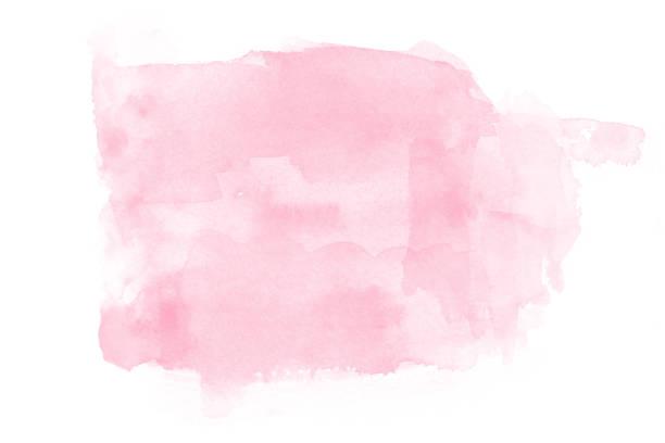 watercolor on white background - acquerello foto e immagini stock
