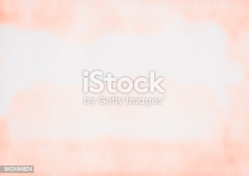 istock Watercolor Orange Backgrounds Abstract Color Gradient 942494824