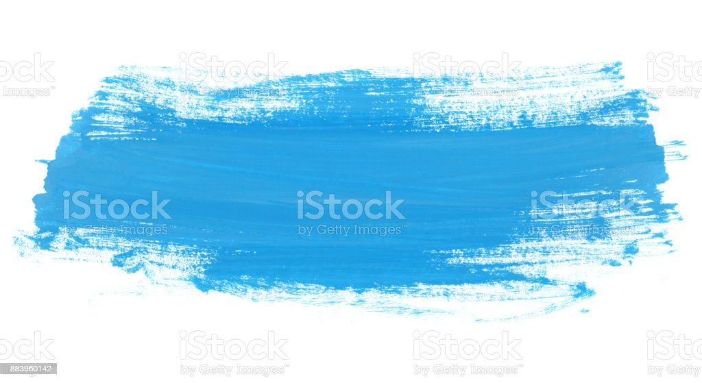 Watercolor Paint Brush Texture Stock Photo More Pictures of