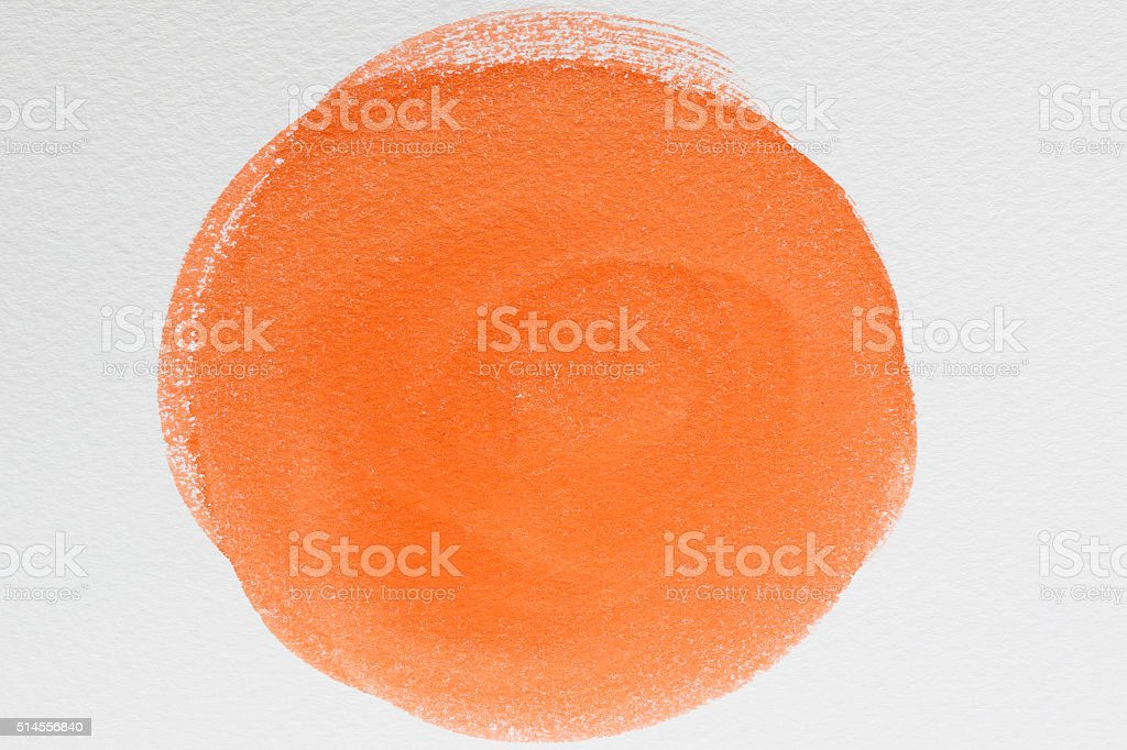 Watercolor painting abstract background stock photo