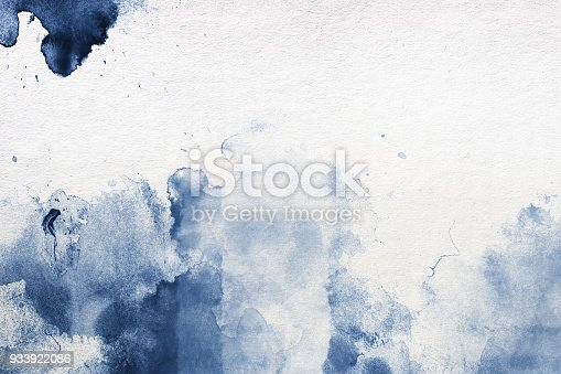511118930 istock photo Watercolor Painting Textured Background 933922086