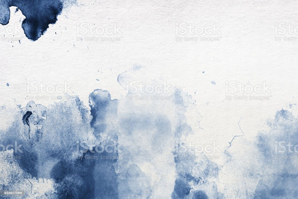 Watercolor Painting Textured Background stock photo