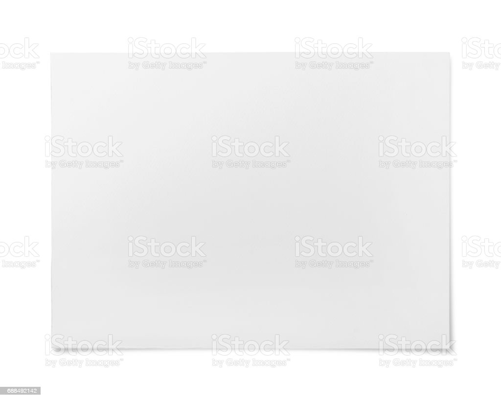 Watercolor paper texture or background stock photo