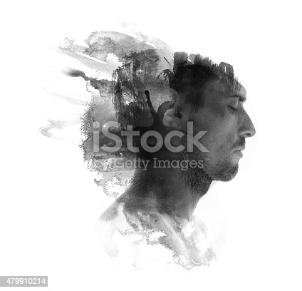498089686 istock photo Watercolor portrait 479910214