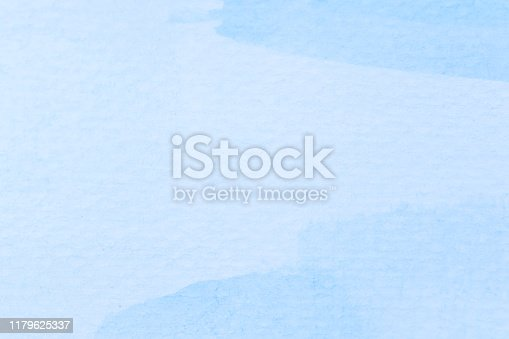 852187968 istock photo Watercolor sky blue light blue texture as background 1179625337