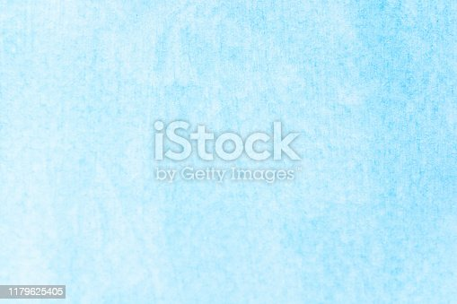 852187968 istock photo Watercolor sky blue light blue texture as background 1179625405