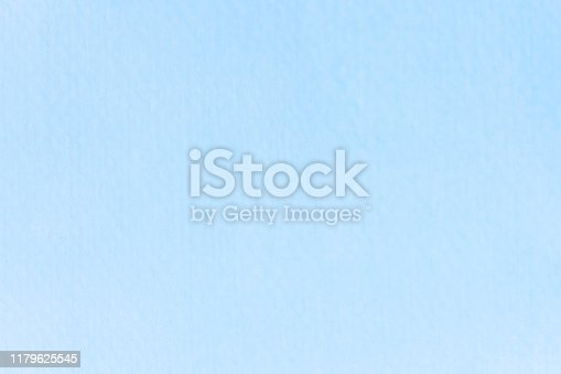 852187968 istock photo Watercolor sky blue light blue texture as background 1179625545