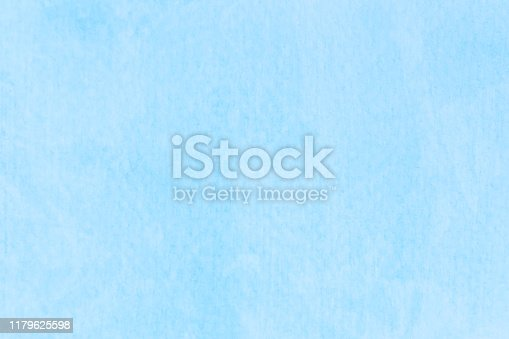 852187968 istock photo Watercolor sky blue light blue texture as background 1179625598