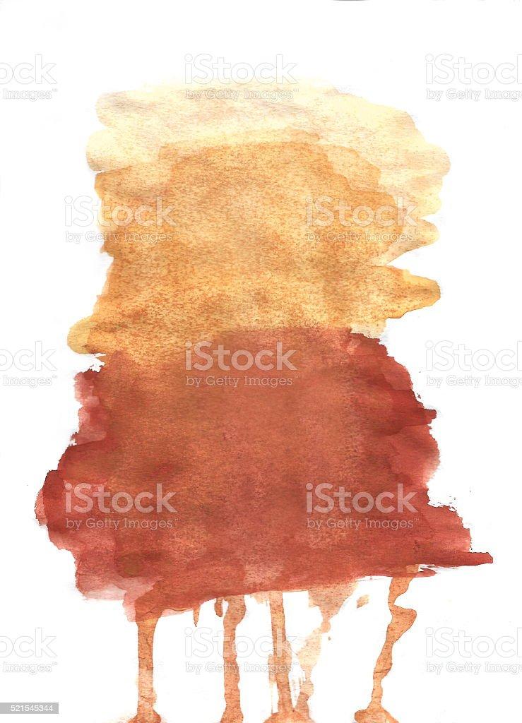 Watercolor splash stock photo