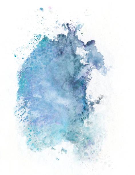 splash aquarelle - aquarelle sur papier photos et images de collection