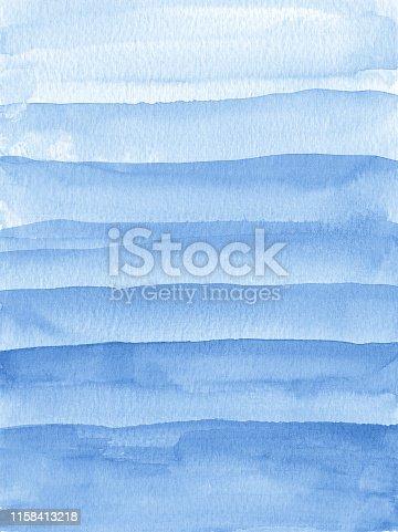 852187968istockphoto Watercolor stripes pattern 1158413218