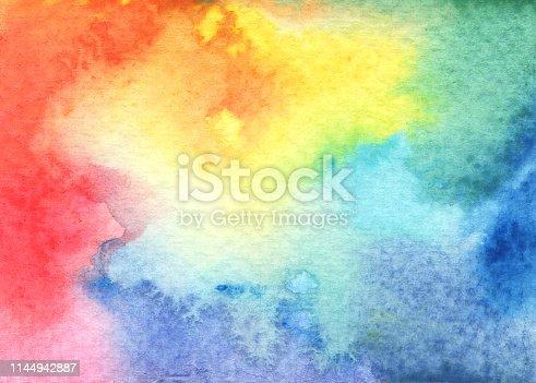 istock Watercolor Textured Background. 1144942887