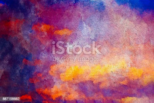 887755698istockphoto Watercolor Textured Background 887158662