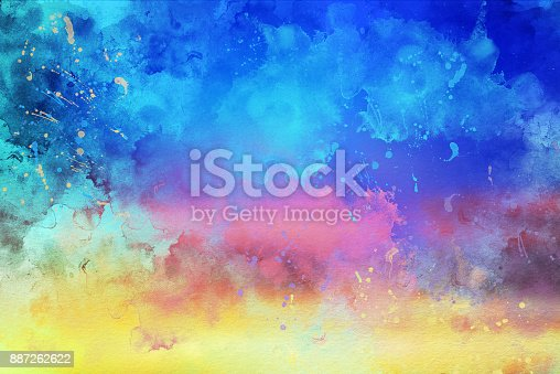 887755698istockphoto Watercolor Textured Background 887262622