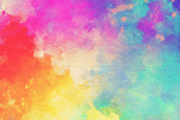 Watercolor Textured Background stock photo