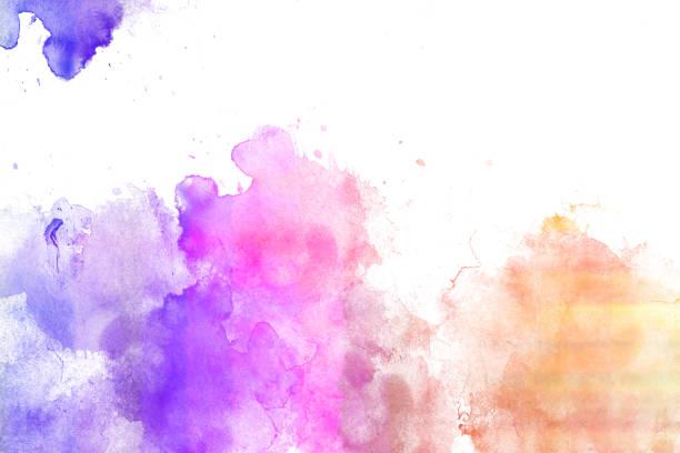 aquarelle de texture fond - aquarelle sur papier photos et images de collection