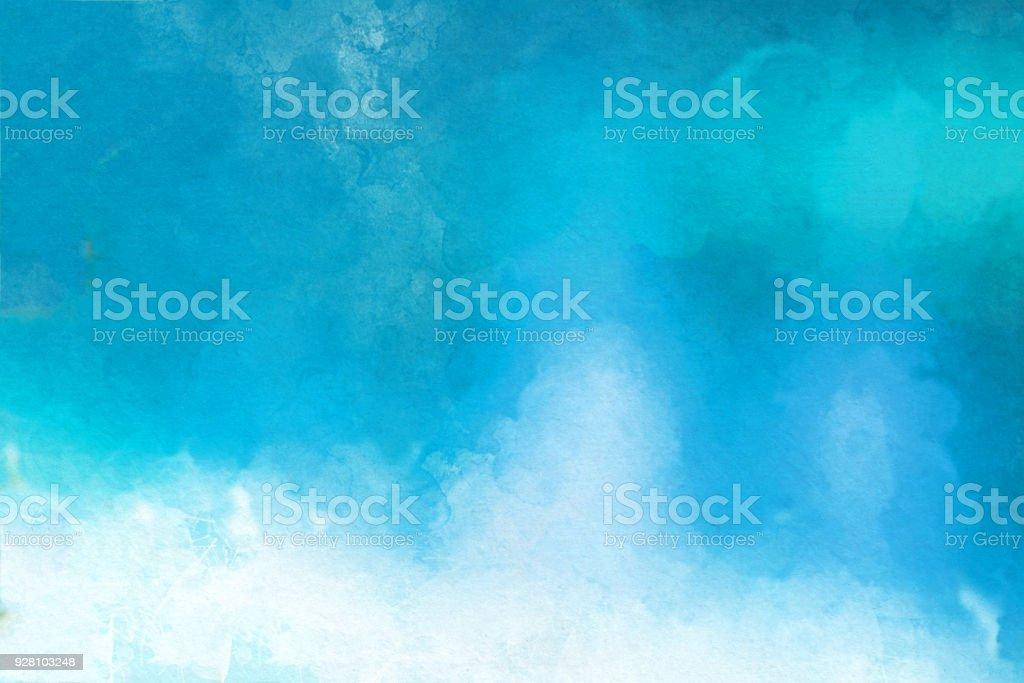 Aquarell strukturiertem Hintergrund – Foto