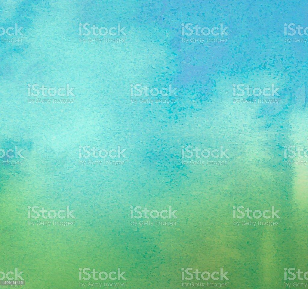 Le watercolors sur fond de papier texturé - Photo