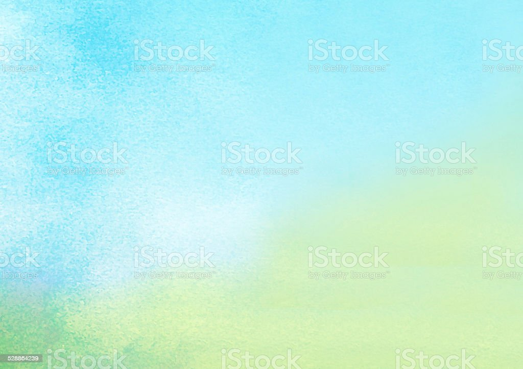 watercolors on textured paper stock photo
