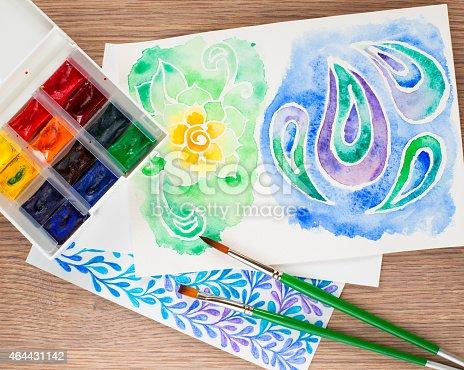 istock Watercolors 464431142