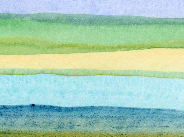 """""""watercolors"""" - bilder landschaften stock-fotos und bilder"""