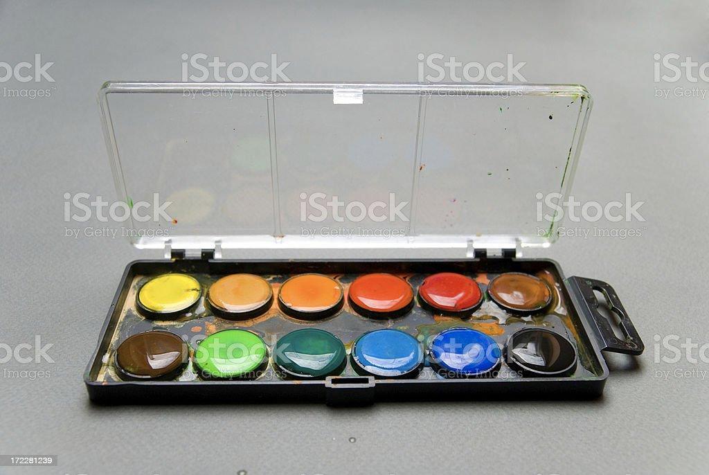 Watercolour 03 (wet) royalty-free stock photo