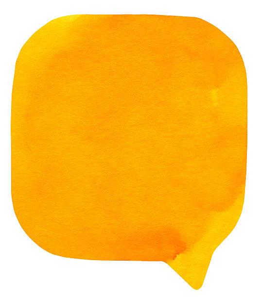 Watercolour light orange speech bubble picture id171266249?b=1&k=6&m=171266249&s=612x612&w=0&h=evbblotqjtbx4t00qgh553etkdjrtnp0ieissoxljyg=