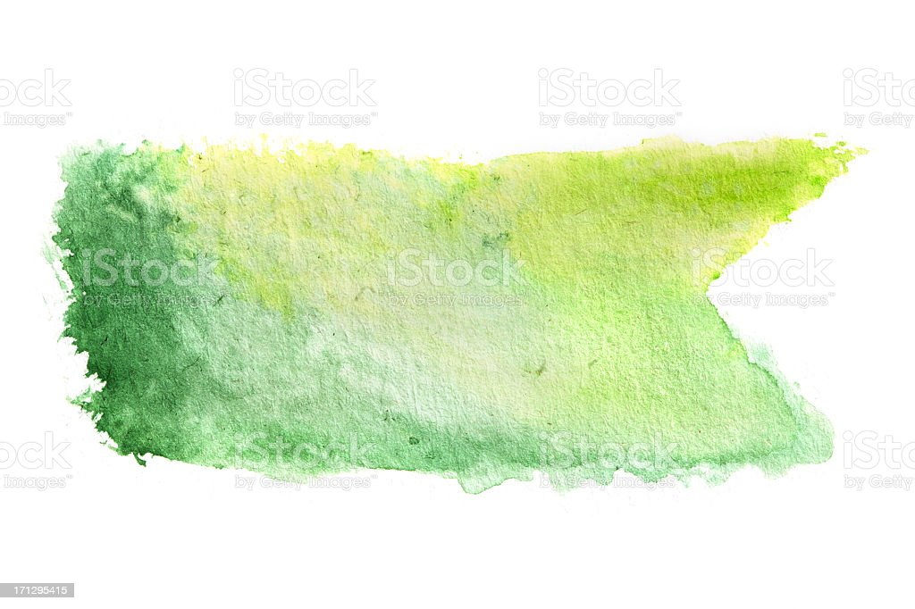 Watercolour Painted Decoration royalty-free stock photo