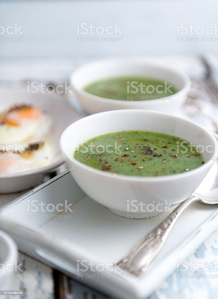 Berro sopa - foto de stock