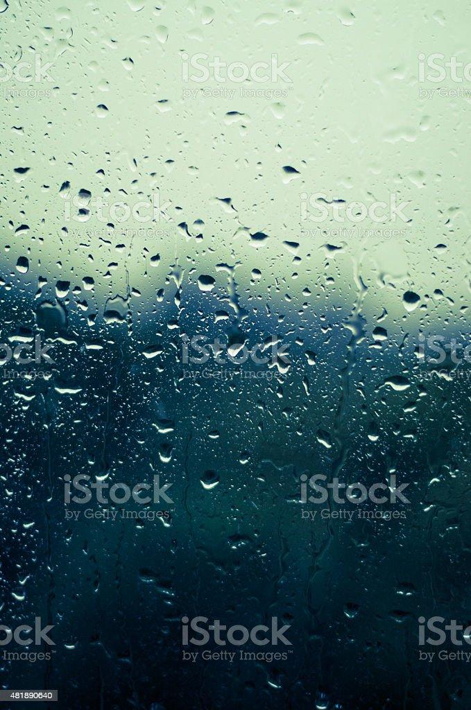 waterdrops stock photo