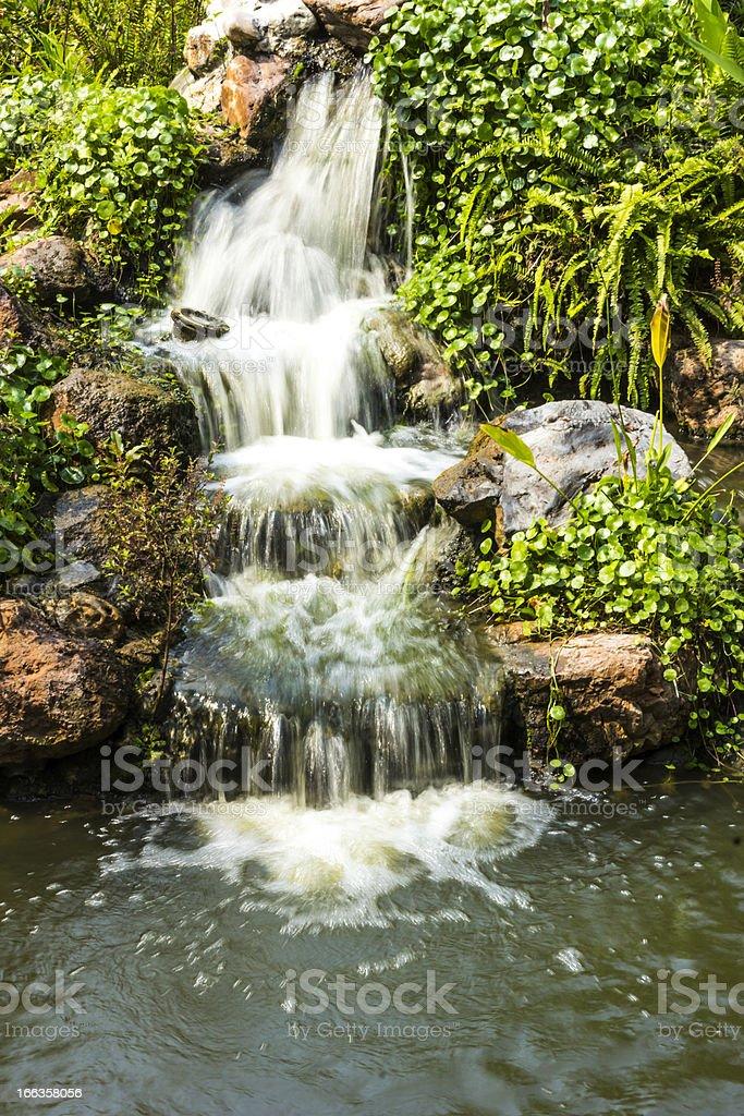 waterfal royalty-free stock photo