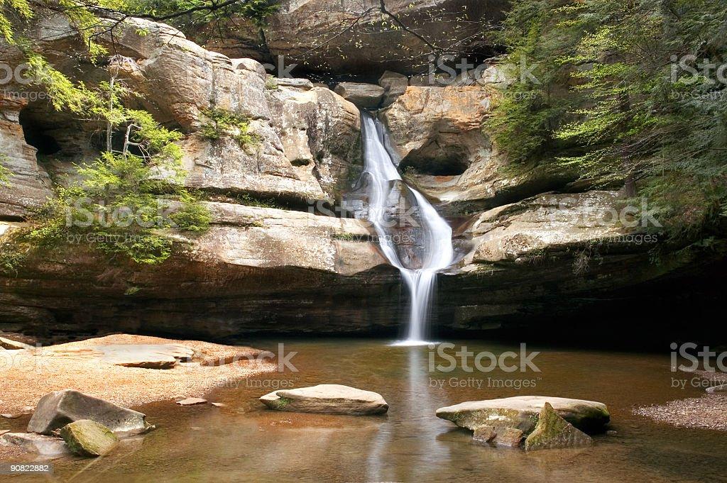 Waterfall 10 stock photo