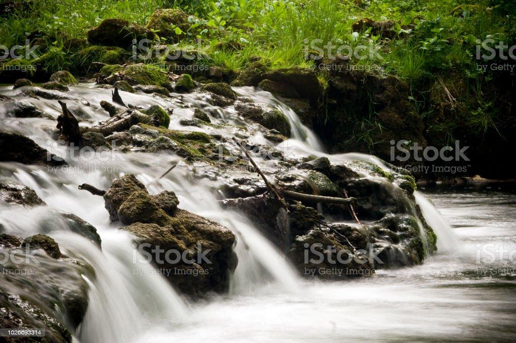 Waterfall 5 stock photo