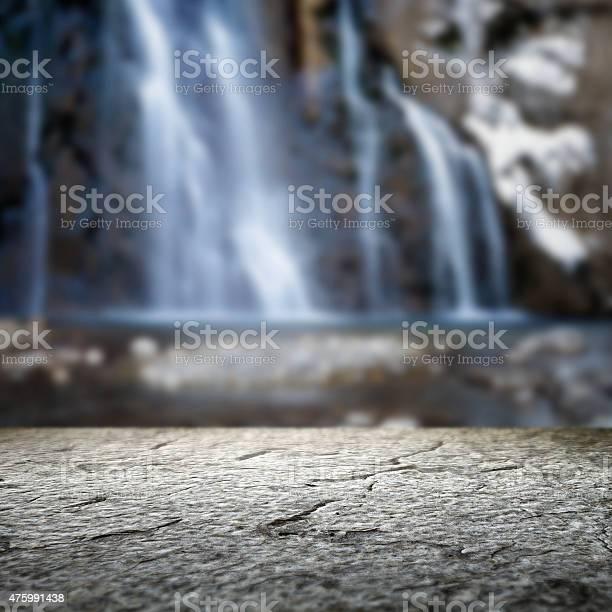 Photo of Waterfall and mountain stream