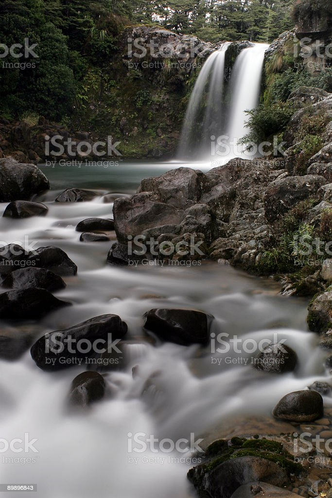 Waterfall and Rapids royalty-free stock photo