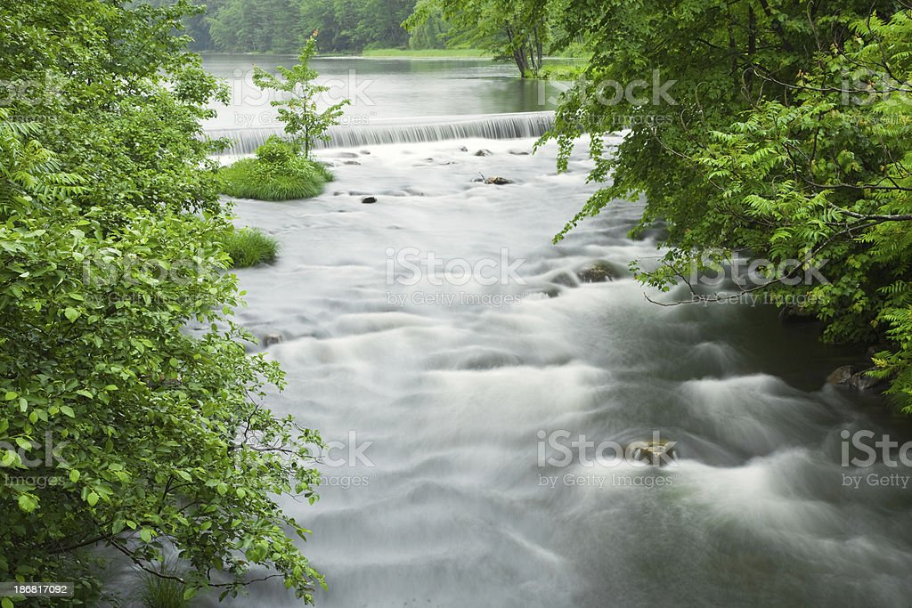 Waterfall and River royalty-free stock photo