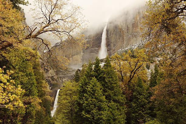 Wasserfall im Yosemite National Park – Foto