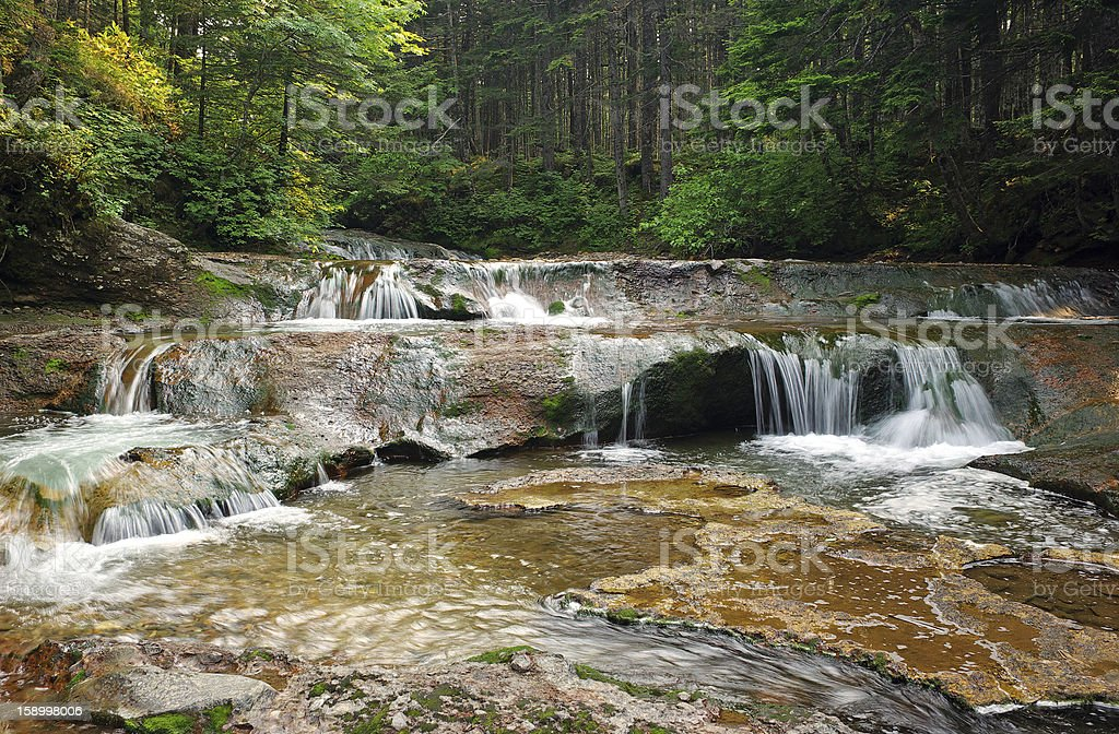 Waterfall brook royalty-free stock photo