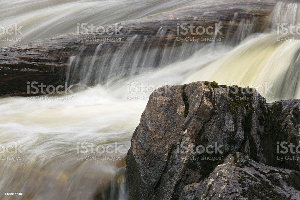Waterfall Close Up stock photo